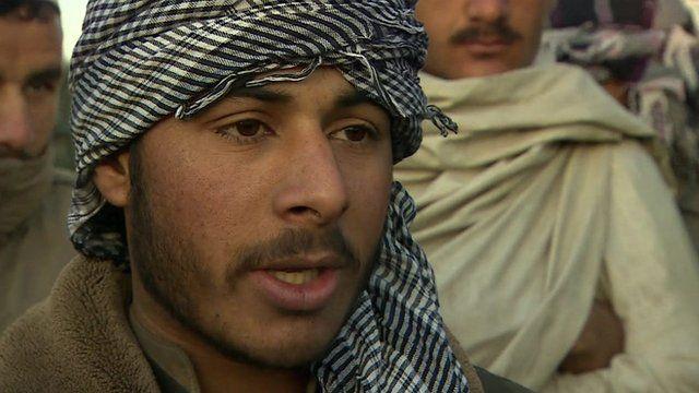 Afghan man