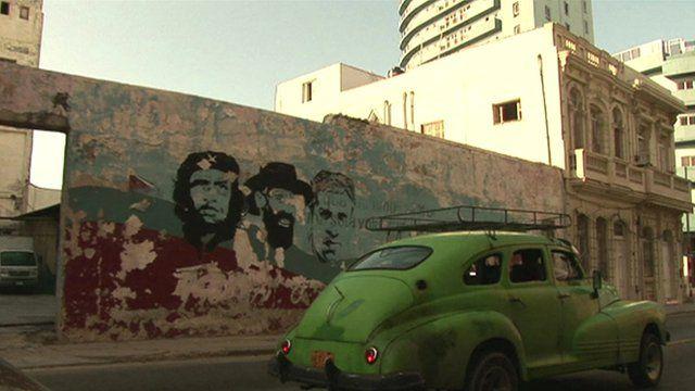 Graffiti of Che Guevara