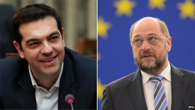 Greek government will seek 'common ground' - EU's Schulz