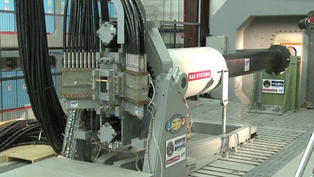 The US Navy railgun