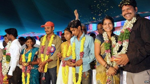 India: Cash reward offered for inter-caste marriages
