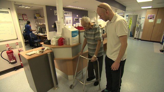 Scheme to get people out of hospital