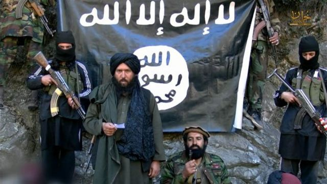 Islamic State leader in Afghanistan 'killed by drone'