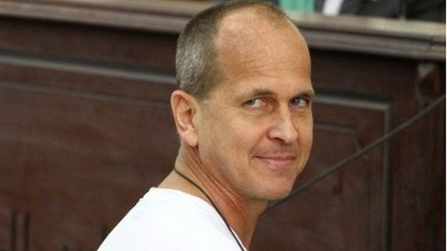 Peter Greste pictured in March 2014