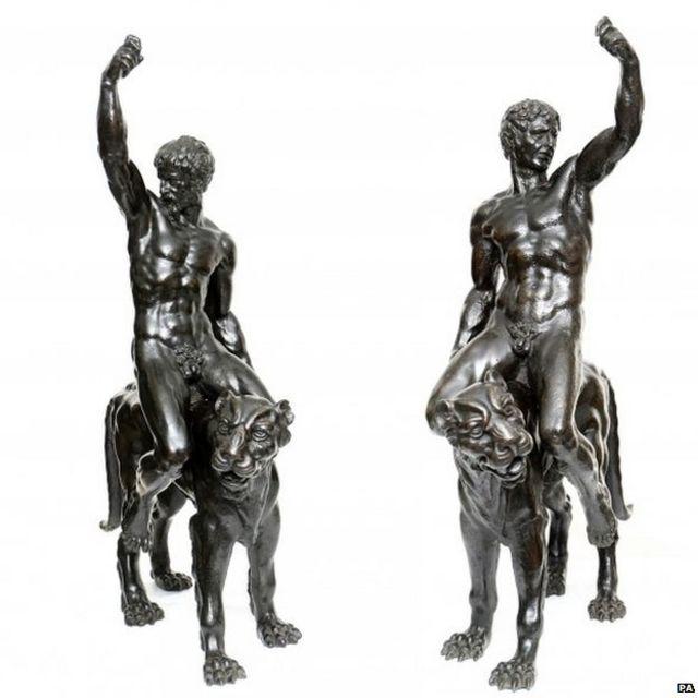 Bronze sculptures 'may be by Michelangelo'