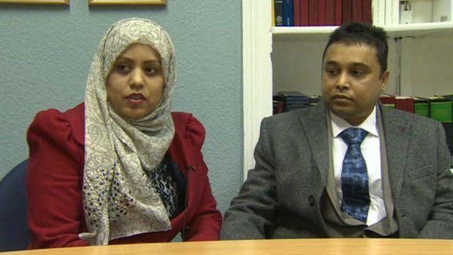 Mohammed and Sajeda Islam