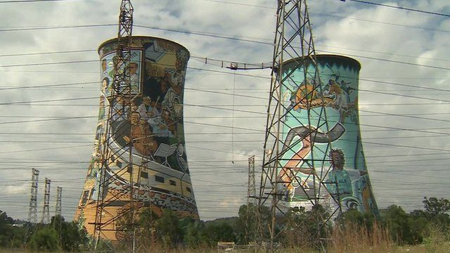 Decommissioned Orlando power station