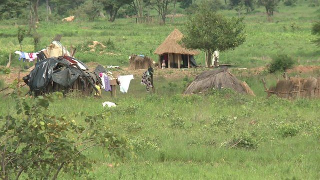 Locals say they are being forced from their homes to make way for a game park