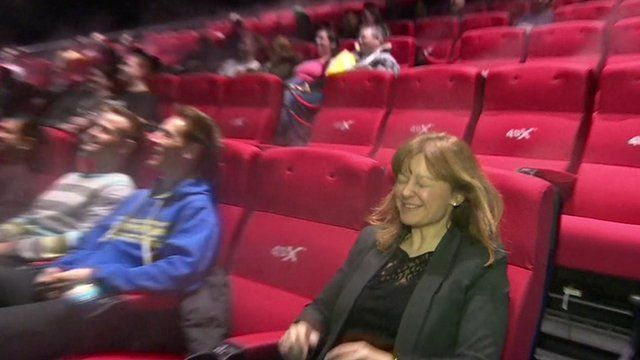 Jo Black in 4DX cinema