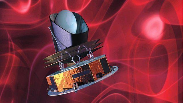 Artist's impression of the Planck satellite