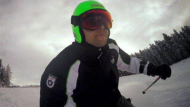 Lucas, a ski coach
