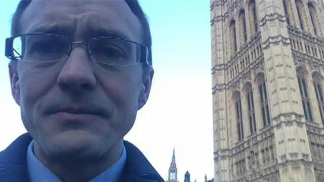BBC political correspondent Chris Mason
