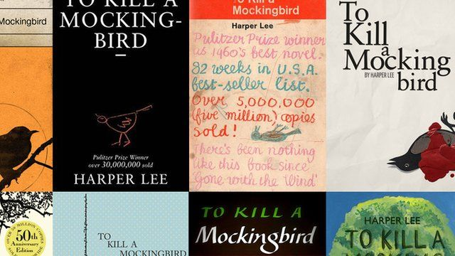 To Kill a Mockingbird bookcovers