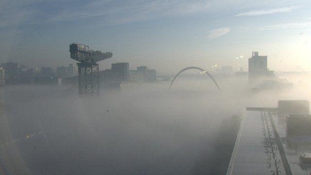 fog on the clyde