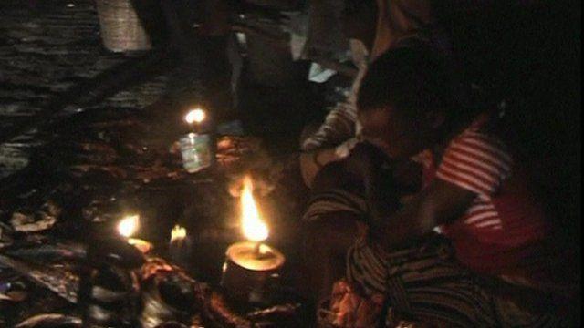 Power cut in Nigeria