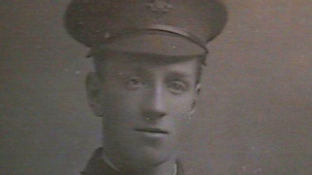 World War One photograph: Ivanhoe Avon