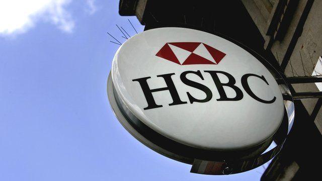 HSBC branch sign
