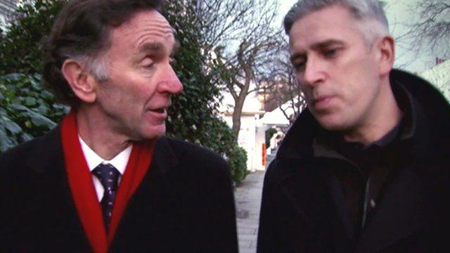 Lord Green speaks to the BBC's Richard Bilton