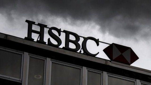 HSBC roof sign