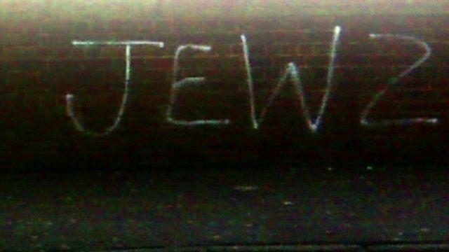 Anti-Jewish graffiti