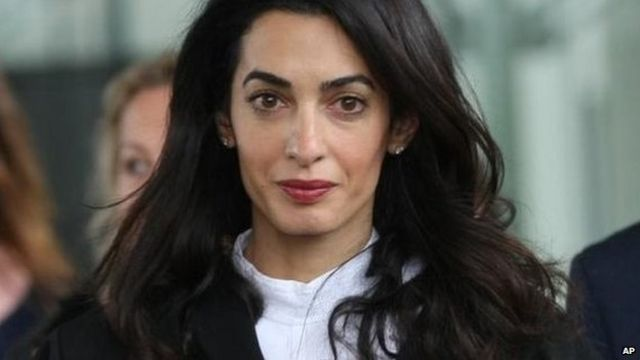 Amal Clooney to represent 'hooded men' in torture legal case