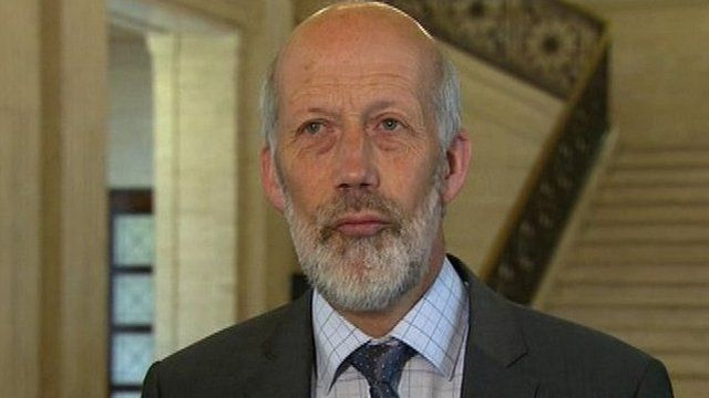 David Ford says the legal aid budget must be brought under control, as Lisa McAllister reports