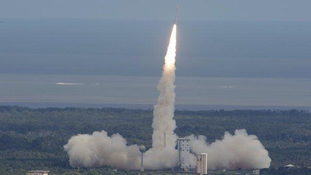 ESA spacecraft launch