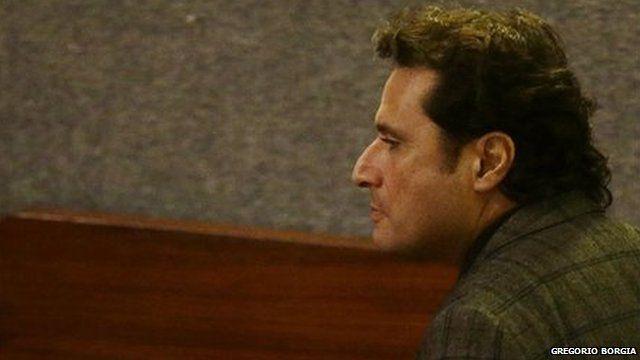 Capt Francesco Schettino in court