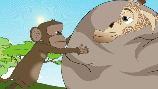 Screenshot from cartoon