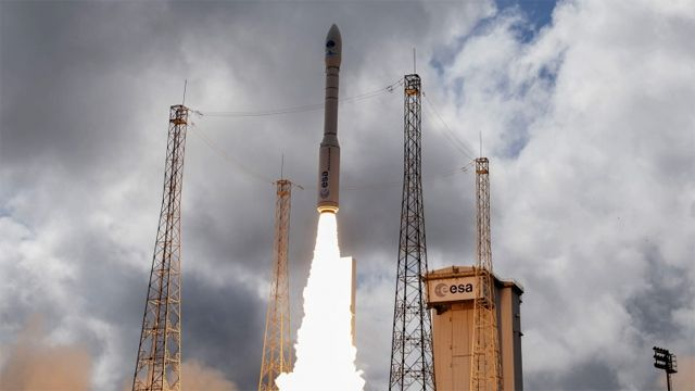 Vega launch from Kourou