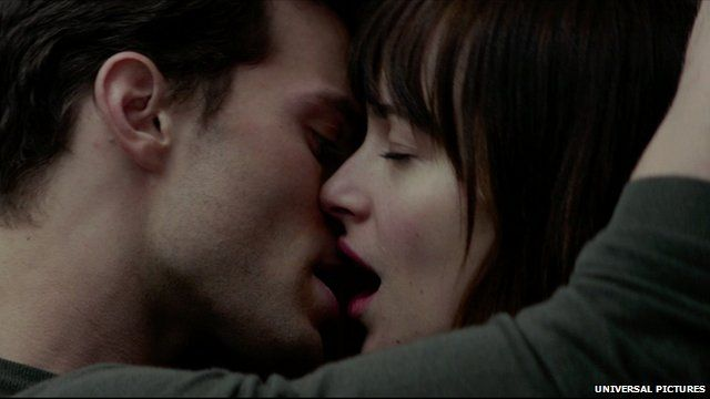 Still from Universal Pictures film Fifty Shades of Grey