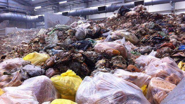 Food waste at Baldock