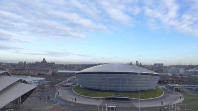 Hydro and SECC in Glasgow