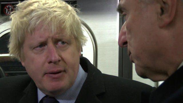 Boris Johnson and Bill Bratton
