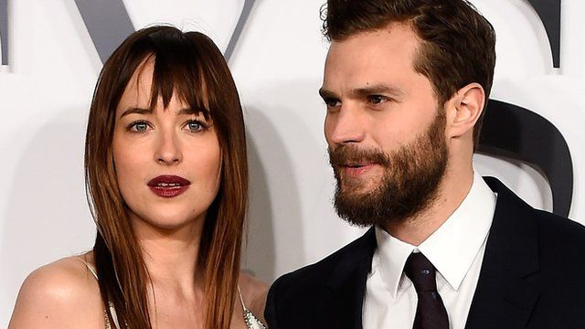 Fifty Shades Of Grey Stars At London Premiere Bbc News