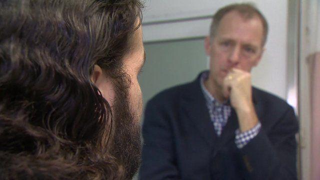 Mohammed talks to Paul Adams