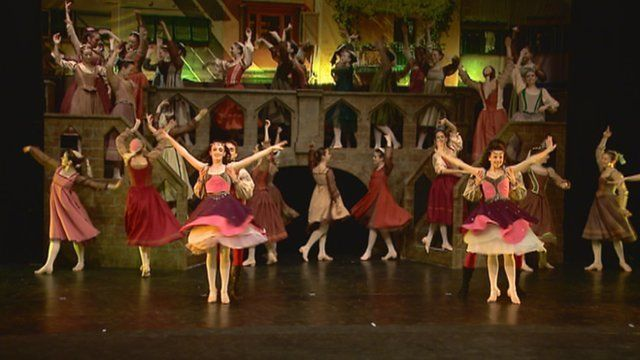 Ballet production of Romeo and Juliet