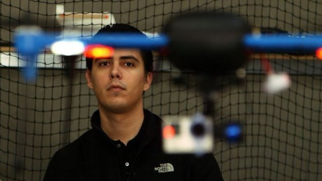 The Mexican immigrant who set up a global drone firm