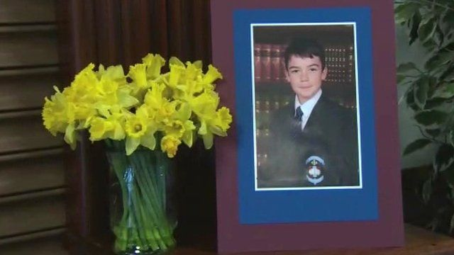 Oisin McGrath was a pupil at St Michael's College in Enniskillen, as Lisa McAllister reports