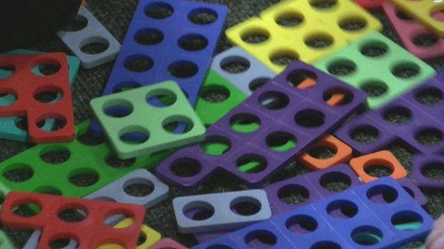 Coloured pieces