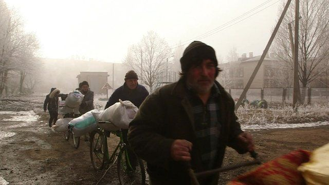 Residents are still leaving the area despite the ceasefire