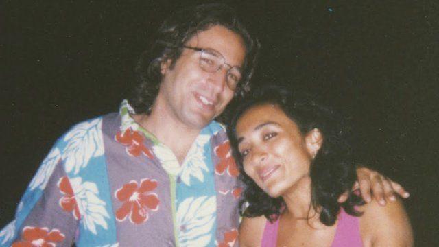 Asra Nomani with Daniel Pearl