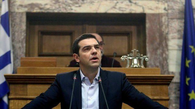 Greece's new Prime Minister Alexis Tsipras