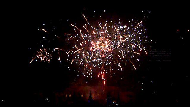 Beijing Lunar new Year fireworks