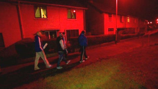 Action for Community Transformation has set up groups of residents to walk around their estates at night, as Colletta Smith reports
