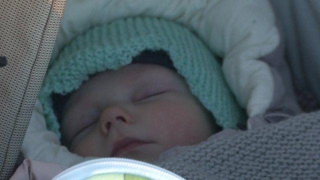 The benefits of letting babies sleep in sub-zero temperatures