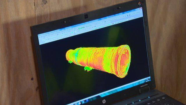 3D image of Mons Meg