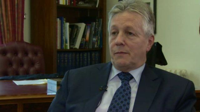 DUP leader Peter Robinson had said his party's lawyers would be in touch with the broadcasters