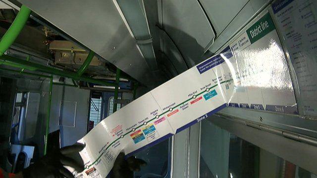 Underground train conversion