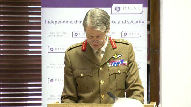 Nato's Deputy Supreme Allied Commander